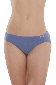 Comazo Earth Dámské klasické kalhotky (mini slip) ze 100% biobavlny - modrá jeans
