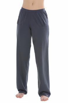 Comazo Earth Dámské teplákové kalhoty ze 100% biobavlny - tmavě šedá granit