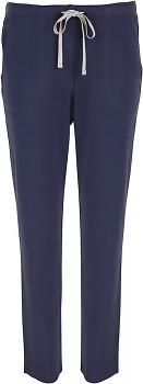 Comazo Earth Dámské teplákové kalhoty ze 100% biobavlny - modrá navy