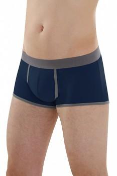 COMAZO EARTH Pánské boxerky s z biobavlny - tmavě modrá navy