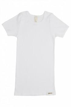 Comazo Earth dětské tričko ze 100% biobavlny - bílá