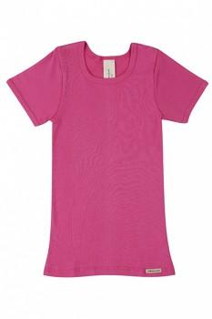 Comazo Earth dětské tričko ze 100% biobavlny - růžová clematis