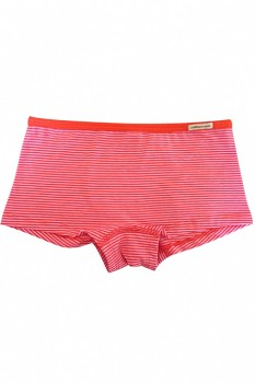 Comazo Earth dívčí kalhotky (hipster) z biobavlny - růžová tomate