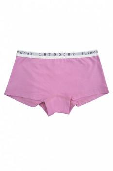 Comazo Earth FAIRCODE dívčí kalhotky (hipster) z biobavlny - růžová