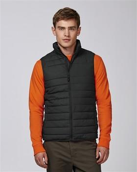 Stanley HIKES pánská prošívaná vesta z recyklovaného polyesteru - černá