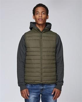 Stanley HIKES pánská prošívaná vesta z recyklovaného polyesteru - britská khaki