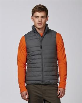 Stanley HIKES pánská prošívaná vesta z recyklovaného polyesteru - tmavě šedá antracit