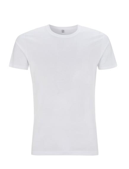 5fa0af999aab Pánské tričko slimfit s krátkými rukávy z 100% biobavlny - bílá ...