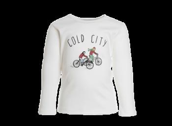 COLD CITY dětské tričko s dlouhými rukávy ze 100% biobavlny