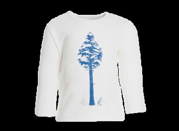 TREE dětské tričko s dlouhými rukávy ze 100% biobavlny
