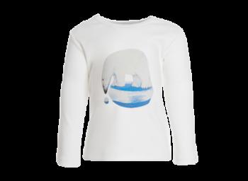 BEAR dětské tričko s dlouhými rukávy ze 100% biobavlny