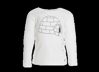 IGLOO dětské tričko s dlouhými rukávy ze 100% biobavlny