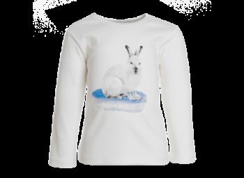 RABBIT dětské tričko s dlouhými rukávy ze 100% biobavlny
