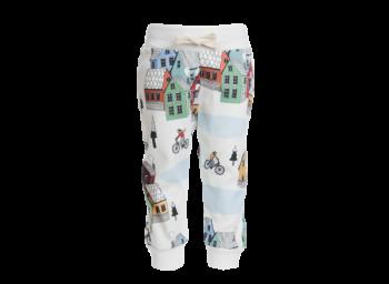COLD TOWN kojenecké úpletové kalhoty ze 100% biobavlny