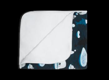 ARCTIC GAME dvouvrstvá dětská přikrývka - tmavě modrá/bílá