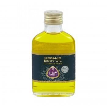Eliah Sahil Ajurvédský bio tělový olej JOJOBA & RŮŽE  - 100 ml