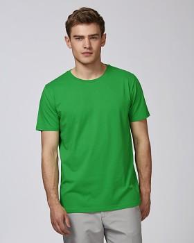 STANLEY LEADS Pánské tričko s krátkým rukávem ze 100% biobavlny - zelená fresh green