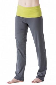 Comazo Earth Dámské úpletové kalhoty z biobavlny - antracit