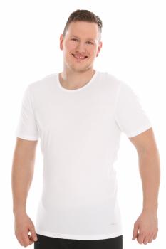 COMAZO EARTH Pánský nátělník ze 100% biobavlny - bílá