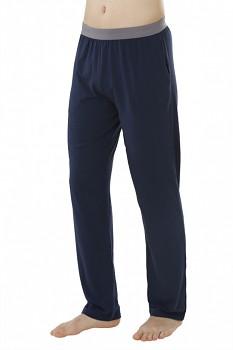 Pánské pyžamové kalhoty - tmavě modrá navy