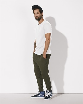 STANLEY HIPS Pánské tričko s krátkým rukávem ze 100% biobavlny - bílá