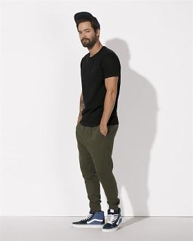 STANLEY HIPS Pánské tričko s krátkým rukávem ze 100% biobavlny - černá