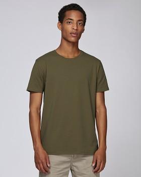 STANLEY HIPS Pánské tričko s krátkým rukávem ze 100% biobavlny - british khaki