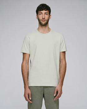 STANLEY HIPS Pánské tričko s krátkým rukávem ze 100% biobavlny - světle šedá opaline