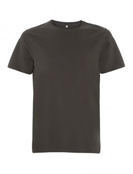 CC Pánské tričko ze 100% biobavlny - tmavě šedá charcoal