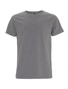 CC Pánské tričko ze 100% biobavlny - šedá melange