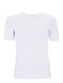 CC Pánské tričko slim fit ze 100% bavlny - bílá