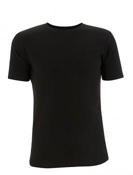 CC Pánské tričko slim fit ze 100% bavlny - černá