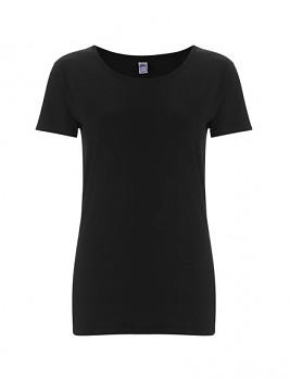 FS Dámské tričko ze 100% fairtrade biobavlny - černá