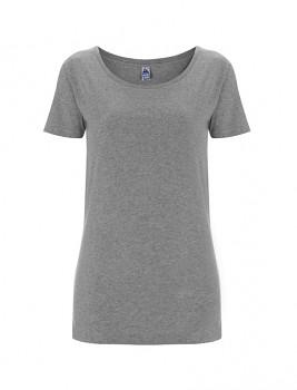 FS Dámské tričko ze 100% fairtrade biobavlny - šedá melange