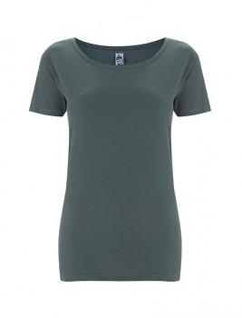 FS Dámské tričko ze 100% fairtrade biobavlny - šedá charcoal