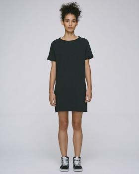 Stella TENDERS dámské šaty z biobavlny - černá