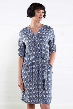 DENIM dámské letní košilové šaty