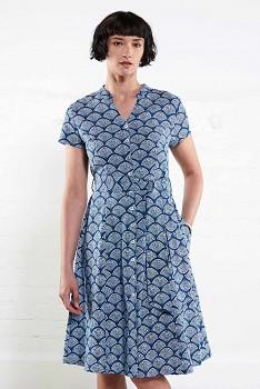BUTTON BLUE dámské letní propínací šaty z bavlny