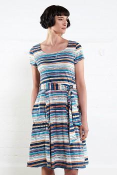 MANGO dámské letní šaty z biobavlny