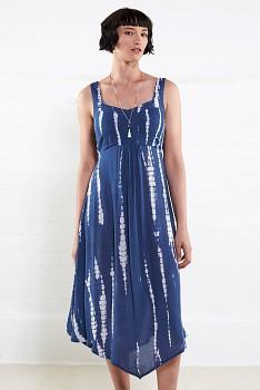 POINT dámské letní šaty z mačkané bavlny