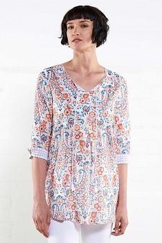 VOILE dámská letní tunika ze 100% bavlny