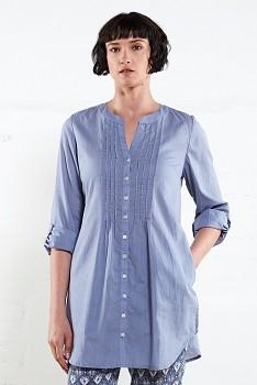 PIN dámská tuniková košile - modrá chambray