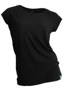 Dámské bambusové tričko černé