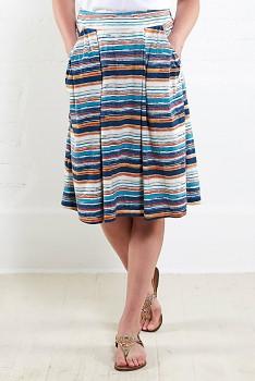 MANGO dámská letní sukně z biobavlny