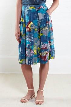 ATLANTIC dámská letní sukně z biobavlny