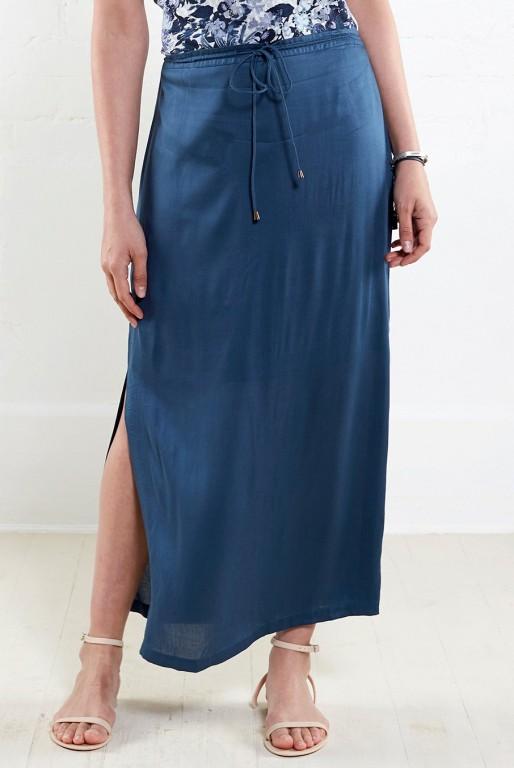ab46f9c46cf ATLANTIC dámská letní maxi sukně - tmavě modrá 30denni garance ...