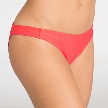 HANLI spodní díl plavek bikini - korálová