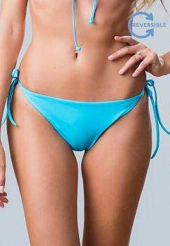LEE TIE REVERSE oboustranný spodní díl plavek -  modrá/oranžová
