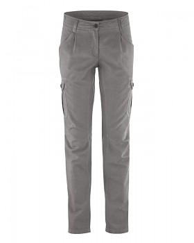 CARGO dámské kalhoty z biobavlny a konopí - šedohnědá taupe