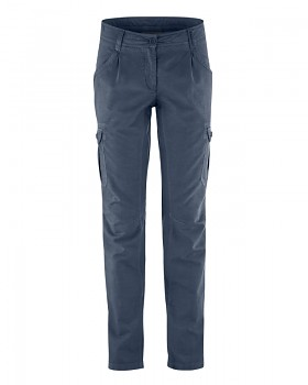 CARGO dámské kalhoty z biobavlny a konopí - tmavě modrá wintersky